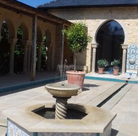 The Pavilion-Moorish Garden